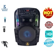 Avcrowns Rechargeable digital audio Player & Speaker with Microphone