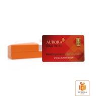 AURORA ทองคำ / ทองคำแท่ง / ทองแผ่น 1 กรัม ทอง 96.5% พร้อมกล่อง *ของแท้*