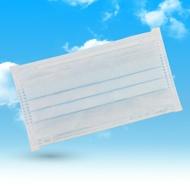 成人平面型醫用口罩(天空藍)- 50入 / 單片包裝