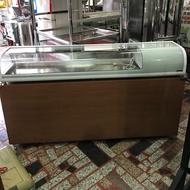 桌上型圓弧展示櫃/生魚片冰箱/壽司櫃/日本料理台/6尺卡布里台 《大買家二手貨萬物全收》