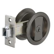 JS30900 幸福牌 60mm 黑色 推拉門鎖 雙鉤鎖 門鎖 房間鎖 房門 客廳 拉門用