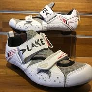 LAKE 三鐵卡鞋 TX212 白色出清