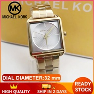 Mk Watch for Women and Men Pawnable Sale Original Authentic Rose Gold Watch for Women Square Style Michael Kors Watch for Women Original Sale Casual Formal Watch for Men and Women Stainless 3644-A