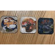 神奇寶貝 Pokemon Tretta Z3彈 大師等級 四星卡 捷克羅姆 透明版土地雲 BS彈 原始固拉多附卡盒