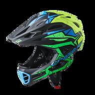 Cratoni C-Maniac Pro 2020 兒童安全帽 黑綠黃 /單車安全帽/ 頭盔/自行車