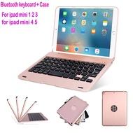 iPad mini Keyboard Case Portable Slim Wireless Bluetooth Keyboard Case Cover for ipad mini 1 2 3 4 5