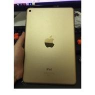 「二手」iPad mini 4wifi版 128g 金色無傷過保