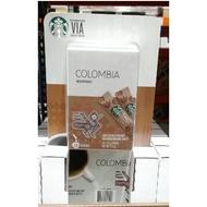 好市多代購 星巴克 哥倫比亞即溶研磨咖啡 2.1G*26包