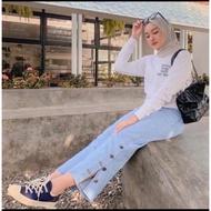 👖 Women jean Short Pant 👖 Seluar jean Perempuan Denim skirt Denim clothses perempuan Seluar jean Wanita ⚘Buttons / jeans / culottes   kulot   Celana kancing / celana jeans / celana kulot✌