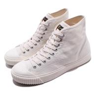 【asics 亞瑟士】休閒鞋 OK Basketball MT 男女鞋 亞瑟士 中筒 帆布鞋 穿搭推薦 米白(1183A203100)