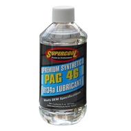 【Supercool 超級冷 】PAG 46 冷凍油 R134A冷媒 汽車空調壓縮機 237ml  美國原裝進口