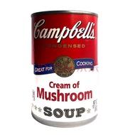 美国进口 金宝汤 忌廉蘑菇汤298g 蔬菜汤298g 番茄汤305g 罐头 忌廉蘑菇汤298g