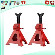 3T 2pcs Thickened Car Jack Stand Repair Tool Adjustable Heavy Height Duty Floor Metal Jacks Jek Kereta 4523