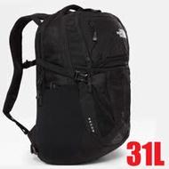 【美國 The North Face】新款 RECON 抗撕裂多功能後背包31L(電腦書包_可容15吋筆電) /3KV1-JK3 黑 N