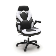 OFM Essentials Racing Style Leather Gaming Chair - Ergonomic Swivel Computer, Office or Gaming Chair