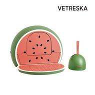 Vetreska 未卡 水果貓砂盆 西瓜 葡萄柚 貓廁所 貓用品 寵物用品