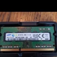 三星 4G 4GB DDR3 1600 PC3 12800 筆記型 筆電記憶體