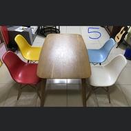 二手餐桌+四張餐桌椅