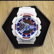G-Shock鋼彈配色雙顯示手錶