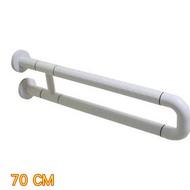 IA043 U型 安全扶手 70mm ABS 牙白防滑 浴室扶手 廁所扶手 浴缸扶手防滑扶手(老人小孩 無障礙設施)