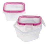 Snapware 2-Pack Total Solution 1.34-Cup Square Storage, Plastic[Pre-Order]