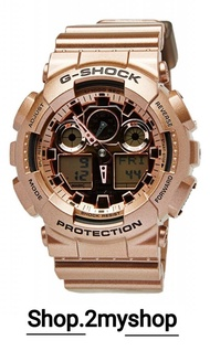 CASIO G SHOCK ROSE GOLD LIMITED EDITION GA-100GD-9A