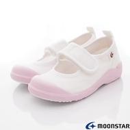 日本Moonstar月星機能童鞋-日本製絆帶室內鞋(CN024粉-15-21cm)