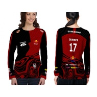 Jersey Alter Ego 2021 Red Edition - Longsleave Women Alter Ego Free Nickname