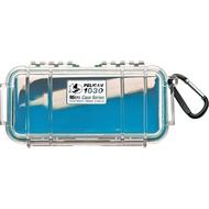 PELICAN 1030 Micro Case 微型防水氣密箱-透明 藍 公司貨