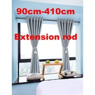 Extendable Rod Telescopic Tension Shower Curtain Rods