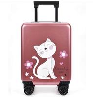 20นิ้วกระเป๋าเดินทางแบบถือกระเป๋าเดินทางสำหรับเด็กเด็กพกพากระเป๋าเดินทางกระเป๋ากลิ้งสำหรับเดินทาง Wheeled กระเป๋ารถเข็นกระเป๋า