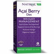 【現貨100%㊣品】美國原裝代購 Natrol Acai berry diet 巴西莓+綠茶 60粒. 素食膠囊