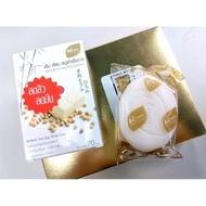 泰國 Mherb 溫和嫩白雞蛋豆腐皂 70g 滋潤肥皂--上班這檔事強推泰國必買(450元)