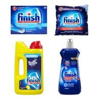 亮碟 洗碗機強力洗滌粉劑1kg/光潔潤乾劑500ml/軟化鹽1kg/洗滌球30入