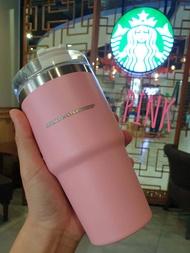 แก้ว Stanley+Starbucks Matt Collection พร้อมหลอด ขนาดความจุ 20 oz