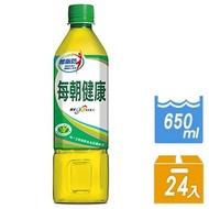 【宅配】御茶園 每朝健康綠茶650ml *24入
