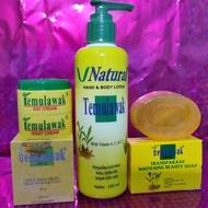❤️temulawak_original❤️ Temulawak Package (day and night cream, soap, hand body)