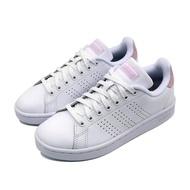 【adidas 愛迪達】ADVANTAGE 女 休閒鞋 白粉(F36481)