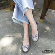 ZAABSHOES รุ่น POPPY MDS รองเท้าคัชชู รองเท้าคัทชูผญ รองเท้าคัดชูผญ รองเท้าผู้หญิงคัทชู นิ่ม ไม่กัดเท้า ไม่ลื่น หน้าเท้ากว้าง มีไซด์ใหญ่ 40-45