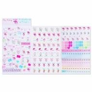 〔小禮堂〕美樂蒂 2020 年曆透明標記貼紙《粉》月曆.日曆.行事曆