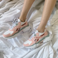 KUMO SHOES-Reebok Royal Bridge 3.0 玫瑰粉 粉紅 白色 老爹鞋 厚底 EF8022