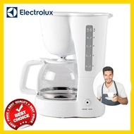 ELECTROLUX เครื่องชงกาแฟ เครื่องชงกาแฟสด เครื่องทำกาแฟ เครื่องทำกาแฟสด เครื่องชงกาแฟอัตโนมัติ ชงได้สูงสุด 15 ถ้วย รุ่น ECM1303W (สีขาว)