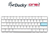 Ducky ONE2 Mini RGB機械式鍵盤-白色 60% PBT 英 中文版 紅軸 茶軸 青軸 銀軸 靜音紅軸