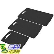 [美國直購] Epicurean 021-3PACK02 黑色砧板 Prep Series Cutting Boards 美國製 三件裝