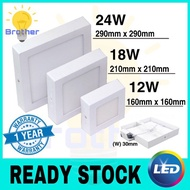 led downlight. 12W/18W/24W LED Surface Downlight Celling Light 7inch/9Inch/12Inch Square