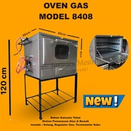 Oven Gas Model 8408 Gas Oven Bread Toaster