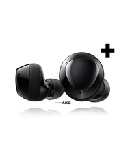 Samsung Galaxy Buds+ Plus, True Wireless Earbuds w/improved battery and call quality (Wireless Charging Case included), Black â US Version, SM-R175NZKAXAR