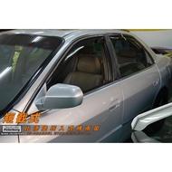 [晴雨窗]【短截式】比德堡崁入式晴雨窗 本田HONDA Accord K9 1998-2002年專用