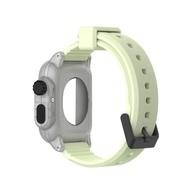 สายนาฬิกาซิลิก้ากันน้ำสายนาฬิกาBandBelt + Watch CaseสำหรับApple Watch3 42Mm