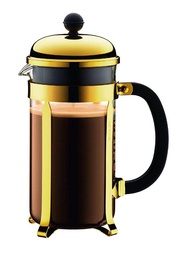 BODUM เครื่องชงกาแฟเฟรนช์เพรส CHAMBORD สีทอง - เครื่องชงกาแฟ เครื่องทำกาแฟ เครื่องชงกาแฟสด เครื่องชงกาแฟแคปซูล กาแฟแคปซูล แคปซูลกาแฟ เครื่องทำกาแฟสด หม้อต้มกาแฟ กาแฟสด กาแฟลดน้ำหนัก กาแฟสดคั่วบด กาแฟลดความอ้วน mini auto capsule coffee machine